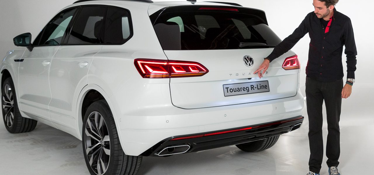 1YT VW Volkswagen Touareg 2018 Neu R Line V8 Diesel V6 Diesel V6 Benziner im Test Review Statisch Weltpremiere Peking AUTOmativ.de Benjamin Brodbeck 5 1280x600 - Neuer VW Touareg (2018) kommt mit Mega-Display: Erste Sitzprobe