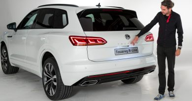 1YT VW Volkswagen Touareg 2018 Neu R Line V8 Diesel V6 Diesel V6 Benziner im Test Review Statisch Weltpremiere Peking AUTOmativ.de Benjamin Brodbeck 5 390x205 - Neuer VW Touareg (2018) kommt mit Mega-Display: Erste Sitzprobe