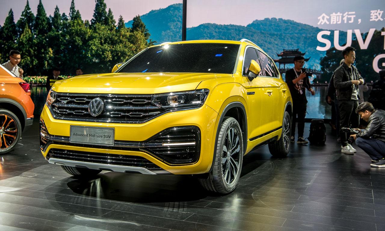 VW Volkswagen Touareg Premiere Peking 2018 SUV T Roc Langer Radstand Ateca SUV Offensive China AUTOmativ.de Benjamin Brodbeck 36 - Klare Ansage für China: Volkswagen bringt 12 neue SUV bis 2020