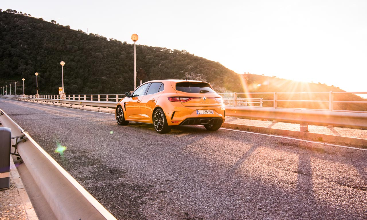 Welch ein Heckdesign beim neuen Renault Mégane R.S.