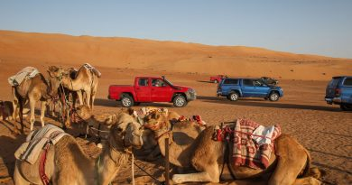 Volkswagen VW Amarok Experience Tour 2018 Oman VW Nutzfahrzeuge Volkswagen Nutzfahrzeuge VW Amarok Offroad AUTOmativ.de Benjamin Brodbeck 100 1 390x205 - BILDERGALERIE: VW Amarok Adventure Tour 2018 durch den Oman