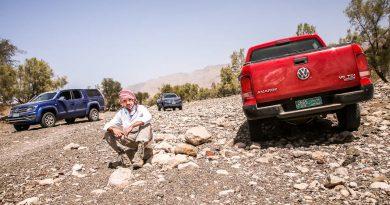 Volkswagen VW Amarok Experience Tour 2018 Oman VW Nutzfahrzeuge Volkswagen Nutzfahrzeuge VW Amarok Offroad AUTOmativ.de Benjamin Brodbeck 91 390x205 - Amarok Adventure Tour 2018 Oman: Wüste, Gebirge und Nerven wie Drahtseile!