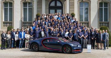 Die Welt hat viel Geld: 100. Bugatti Chiron gebaut