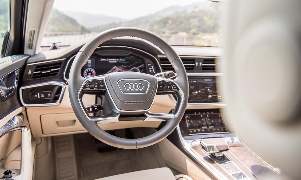 Neuer Audi A6 55 TFSI C8 im Test und Fahrbericht Porto Audi A6 40 TDI Test Audi A6 50 TDI Test AUTOmativ.de Benjamin Brodbeck 19 1 - Neuer Audi A6 55 TFSI (C8) im ersten Fahrbericht: Geschmeidiger Komfort-Athlet
