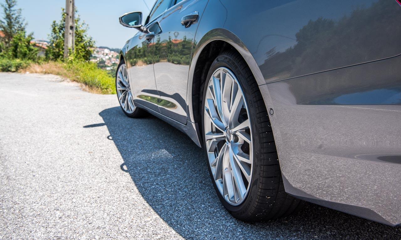 Neuer Audi A6 55 TFSI C8 im Test und Fahrbericht Porto Audi A6 40 TDI Test Audi A6 50 TDI Test AUTOmativ.de Benjamin Brodbeck 2 - Neuer Audi A6 55 TFSI (C8) im ersten Fahrbericht: Geschmeidiger Komfort-Athlet