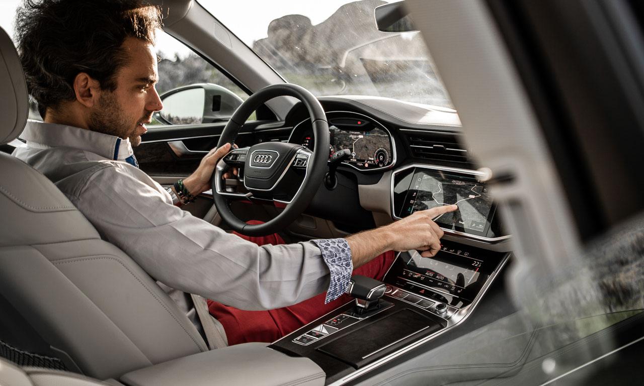 Neuer Audi A6 55 TFSI C8 im Test und Fahrbericht Porto Audi A6 40 TDI Test Audi A6 50 TDI Test AUTOmativ.de Benjamin Brodbeck 25 - Neuer Audi A6 55 TFSI (C8) im ersten Fahrbericht: Geschmeidiger Komfort-Athlet