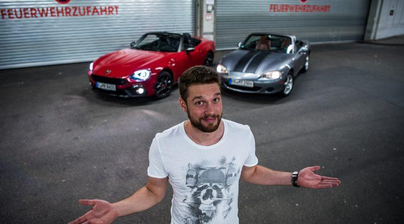 Abarth 124 Spider Test Fahrbericht AUTOmativ.de Benjamin Brodbeck Ilona Farsky Stefan Emmerich 718 Boxster Mazda MX 5 LQ 77 800x445 - Test: Kann der Abarth 124 Spider auch Gebrauchtwagen? - Vergleich Mazda MX-5 (2002)