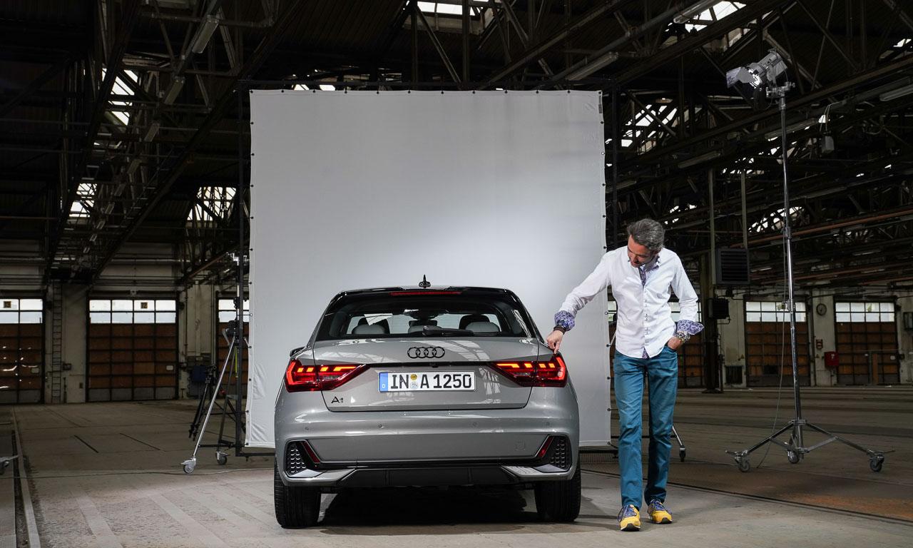 Audi A1 2018 Test und Vorstellung der Weltpremiere AUTOmativ.de Benjamin Brodbeck 20 - Erste Sitzprobe im neuen Audi A1 (2018): Fesch, frisch und knackig!