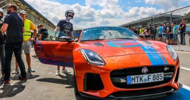 Mit Jaguar bei den High Performance Days 2018 quer über den Hockenheimring