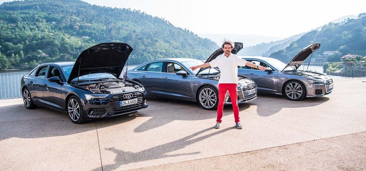 Neuer Audi A6 55 TFSI C8 im Test und Fahrbericht Porto Audi A6 40 TDI Test Audi A6 50 TDI Test AUTOmativ.de Benjamin Brodbeck 24 1280x600 - Motorisierungen neuer Audi A6 (2018): Welche ist die Beste?