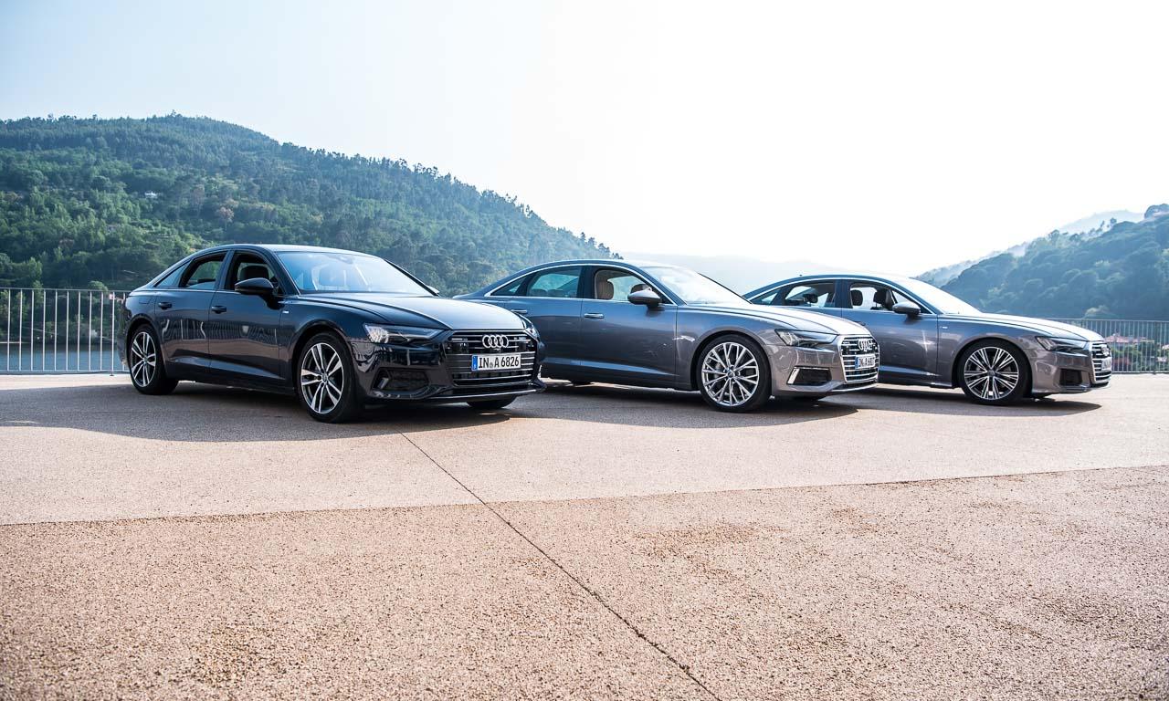 Neuer Audi A6 55 TFSI C8 im Test und Fahrbericht Porto Audi A6 40 TDI Test Audi A6 50 TDI Test AUTOmativ.de Benjamin Brodbeck 26 - Motorisierungen neuer Audi A6 (2018): Welche ist die Beste?