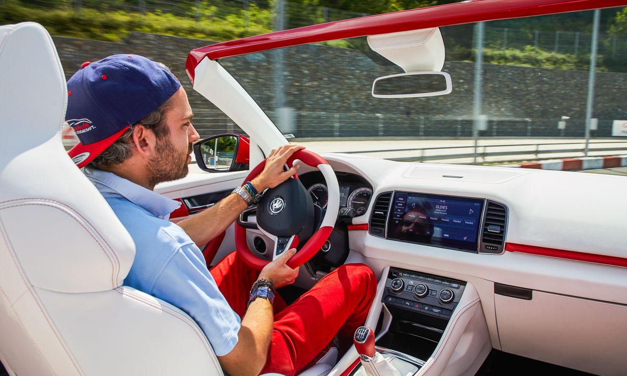 Skoda Karoq Cabriolet Cabrio heisst Skoda Sunroq Azubicar 2018 Fahrbericht Test Review Benjamin Brodbeck AUTOmativ.de 12 - Skoda Karoq Cabriolet alias Skoda Sunroq im ersten Fahreindruck!