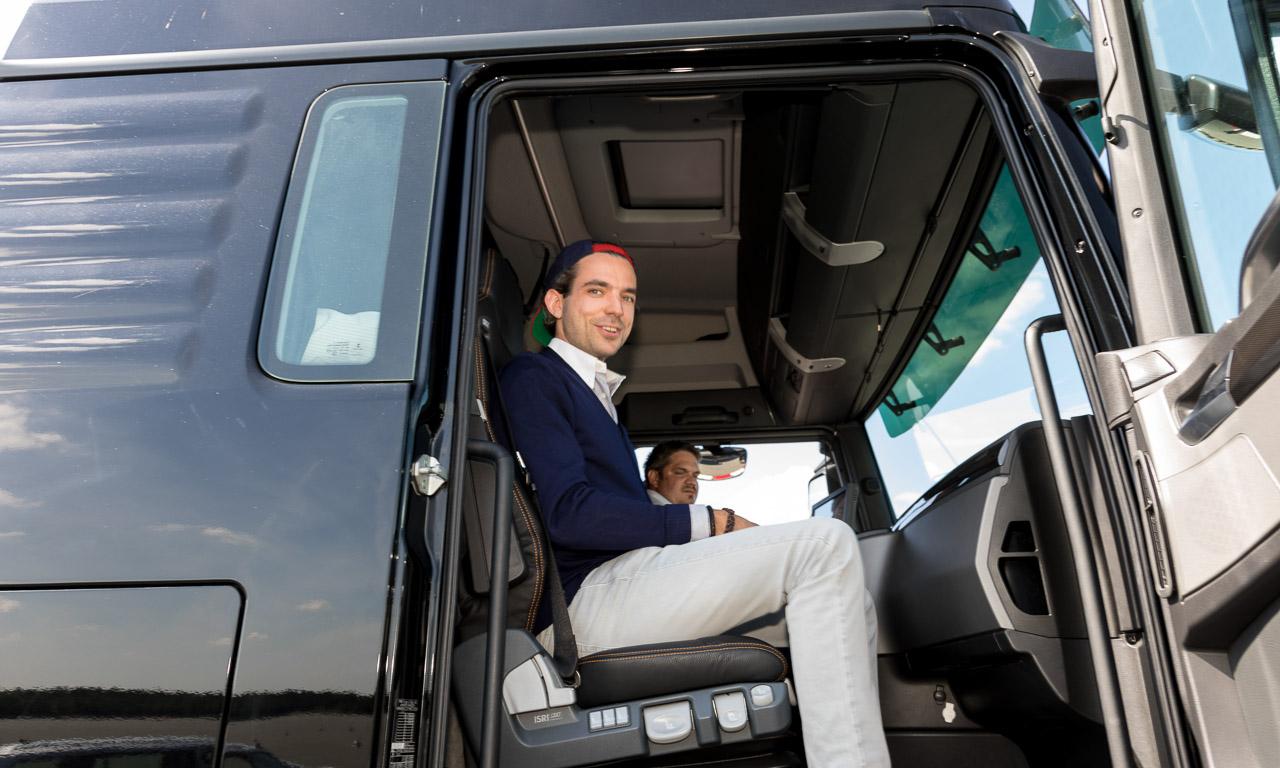 Volkswagen AG Ehra Lessien Sedric Fahren AUTOmativ.de Benjamin Brodbeck 8 - Das haben Sie noch nie gehört: Abgas-Wärmetauscher für Lkw und Pkw für mehr Effizienz?