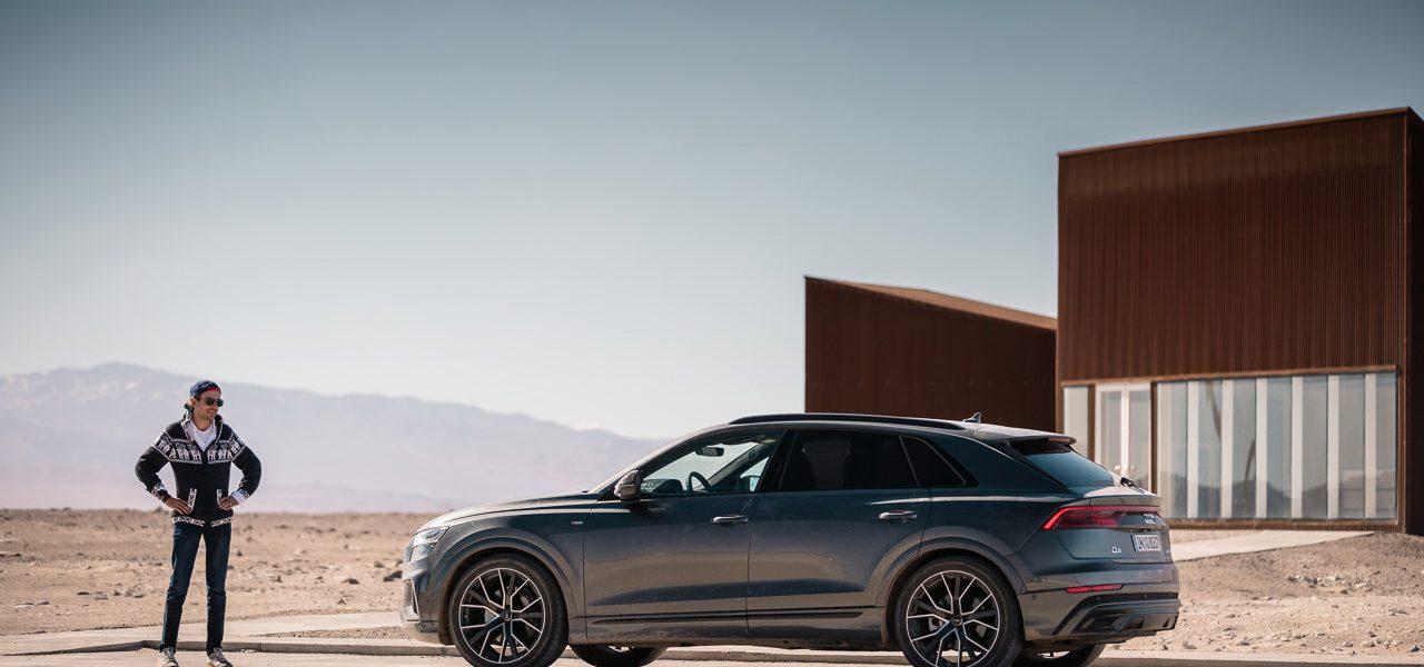 Test: Mit dem Audi Q8 55 TFSI durch die Atacama Wüste und auf 4.500 Meter Höhe