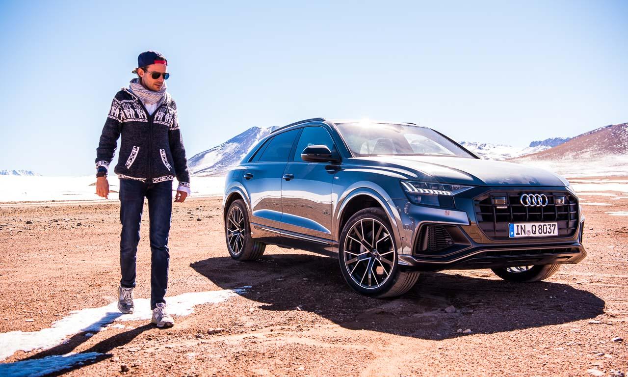 Audi Q8 55 TFSI im ersten Fahrbericht in Chile San Pedro de Atacama 4.500 Meter AUTOmativ.de Benjamin Brodbeck 45 - Test: Mit dem Audi Q8 55 TFSI durch die Atacama Wüste und auf 4.500 Meter Höhe