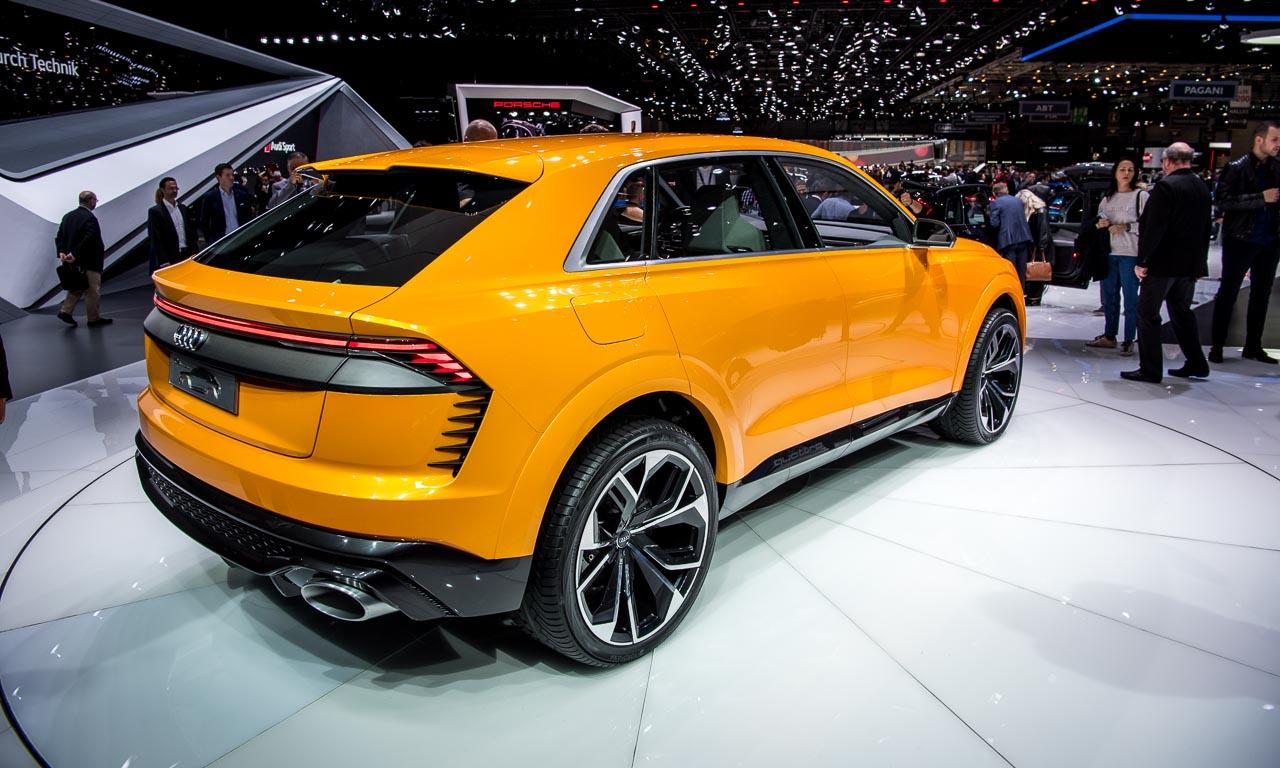Audi Q8 Concept Autosalon Genf 2017 GIMS2017 AUTOmativ.de Benjamin Brodbeck 3 - Test: Mit dem Audi Q8 55 TFSI durch die Atacama Wüste und auf 4.500 Meter Höhe