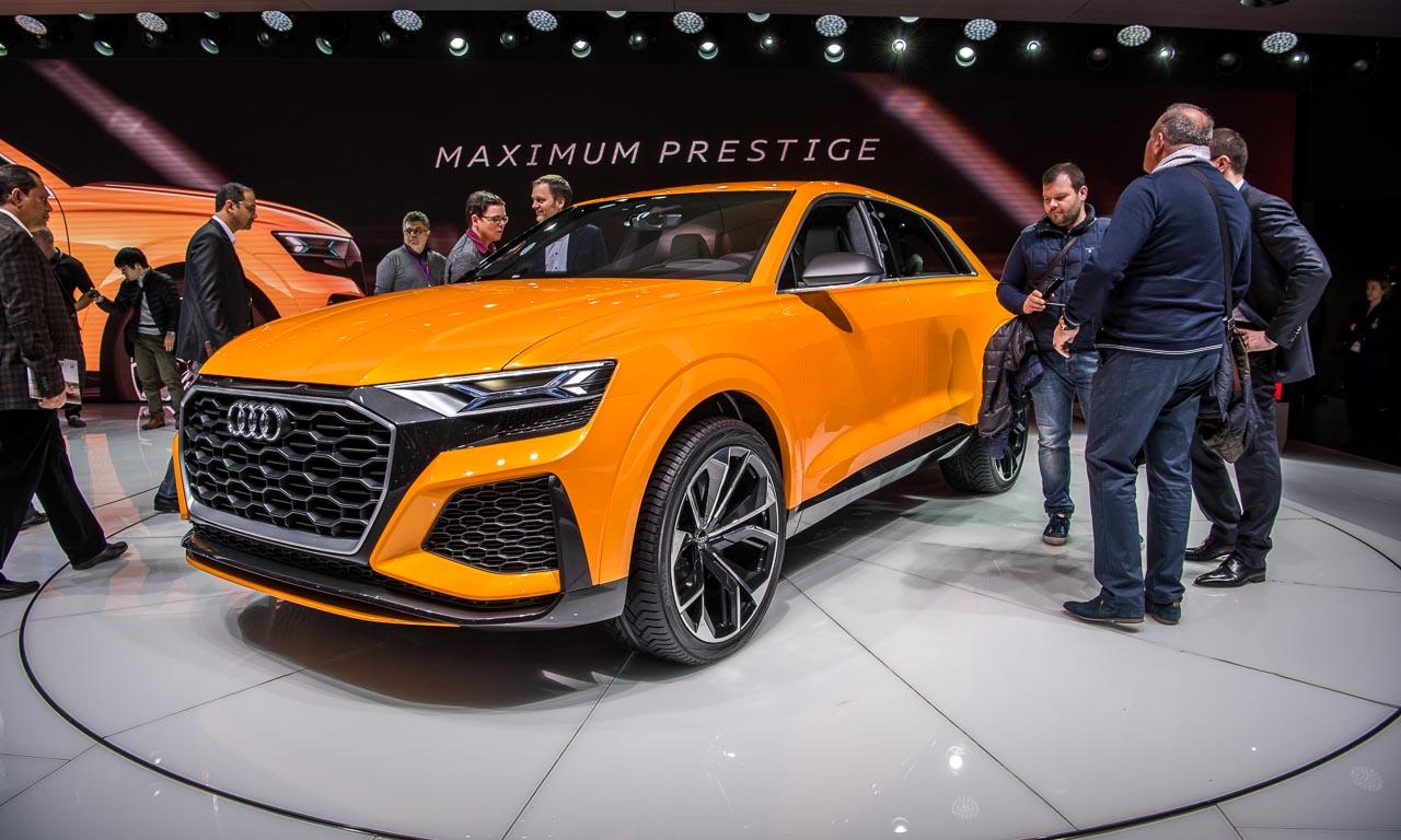 Audi Q8 Concept Autosalon Genf 2017 GIMS2017 AUTOmativ.de Benjamin Brodbeck - Test: Mit dem Audi Q8 55 TFSI durch die Atacama Wüste und auf 4.500 Meter Höhe