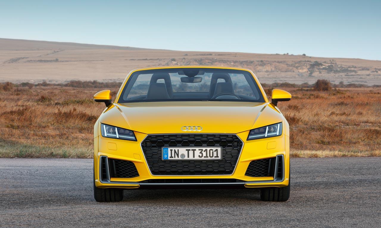 Audi TT 20 Years 20 Jahre Roadster und Coupe AUTOmativ.de Test Review Benjamin Brodbeck 3 - Neuer Audi TT (2018): Sitzprobe im exklusiven und auf 999 Einheiten limitierten Sondermodell