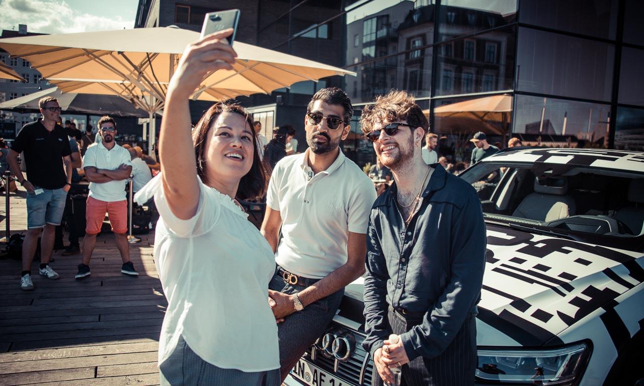 Audi e tron Party Kopenhagen 11 - Erstes Audi Elektroauto: Audi e-tron feiert sonnige Supersause in Kopenhagen