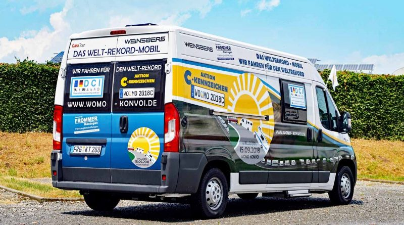 Initiative C-Kennzeichen für das Wohnmobil und Reisemobil