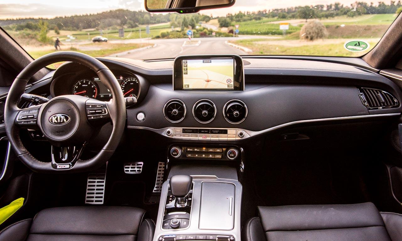 Kia Stinger GT 3.3 AWD 370 PS Fahrbericht und Test AUTOmativ.de Benjamin Brodbeck 21 - Kia Stinger GT im Fahrbericht: 3.500 Kilometer entspannte Präzision