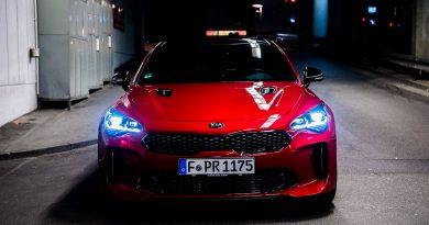 Mit dem Kia Stinger GT durch die Nacht: Wie gut sind die LED-Scheinwerfer?