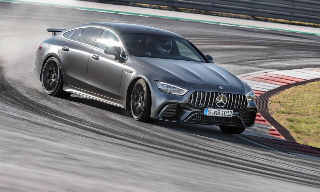 Mercedes AMG GT 4 Tuerer 4 Doors AUTOmativ.de Benjamin Brodbeck 3 - Das Cockpit des Mercedes-AMG GT 4-Türer sieht aus wie eine billige Spielekonsole