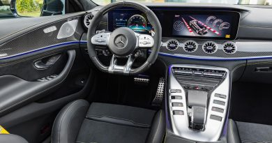Mercedes AMG GT 4 Tuerer 4 Doors AUTOmativ.de Benjamin Brodbeck 390x205 - Das Cockpit des Mercedes-AMG GT 4-Türer sieht aus wie eine billige Spielekonsole