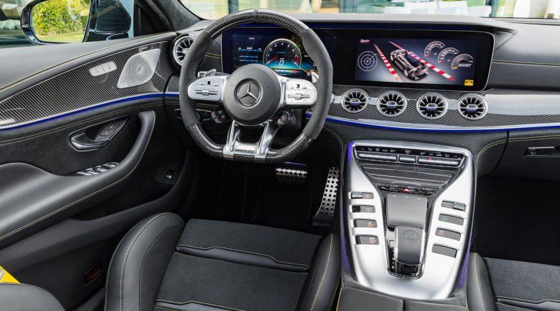 Mercedes AMG GT 4 Tuerer 4 Doors AUTOmativ.de Benjamin Brodbeck 800x445 - Das Cockpit des Mercedes-AMG GT 4-Türer sieht aus wie eine billige Spielekonsole