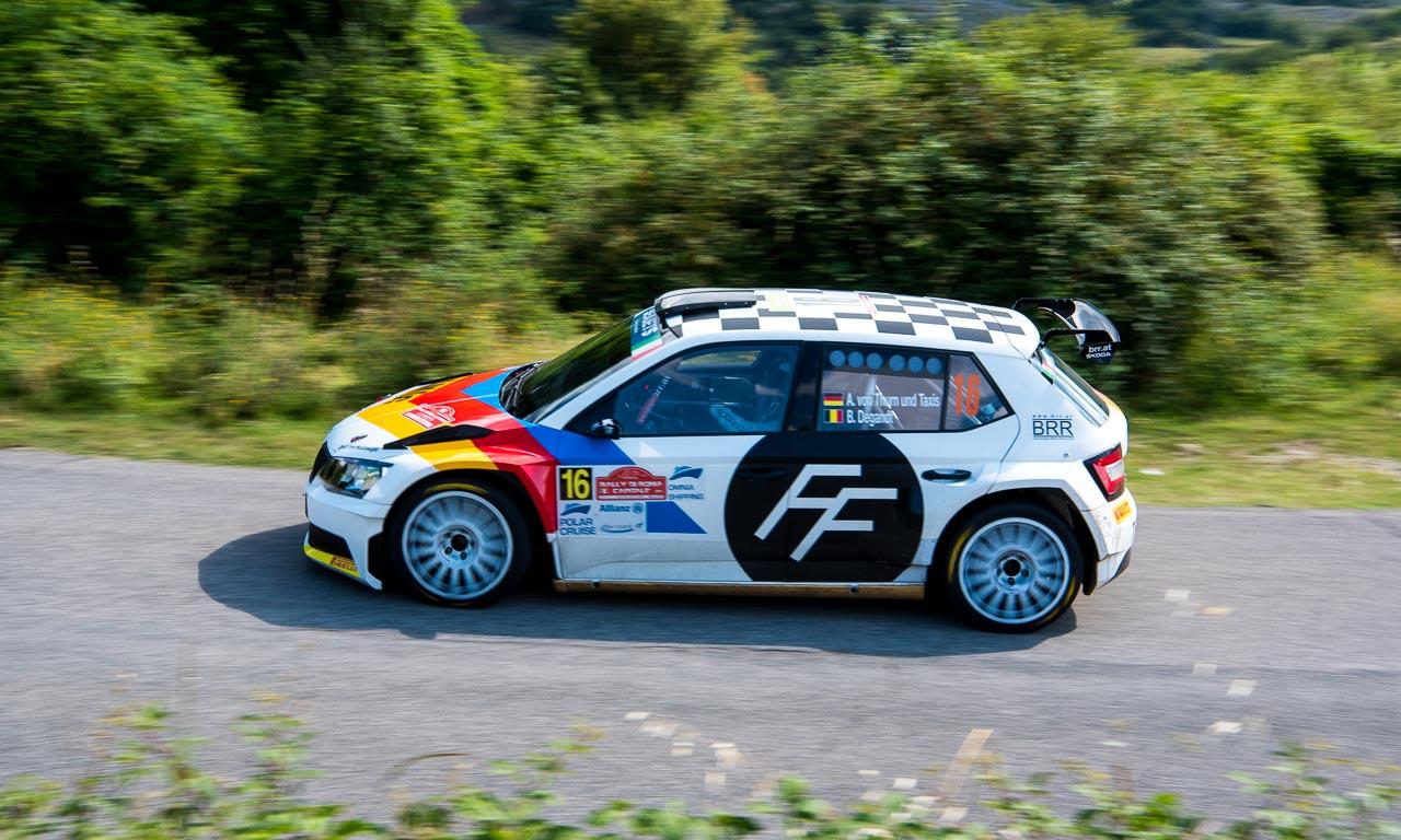 Rally di Roma 2018 Skoda Fabia R5 Fabian Kreim AUTOmativ.de Benjamin Brodbeck 29 - Der Reiz, eine Rallye hautnah mitzuerleben: Mit Skoda bei der Rally di Roma!