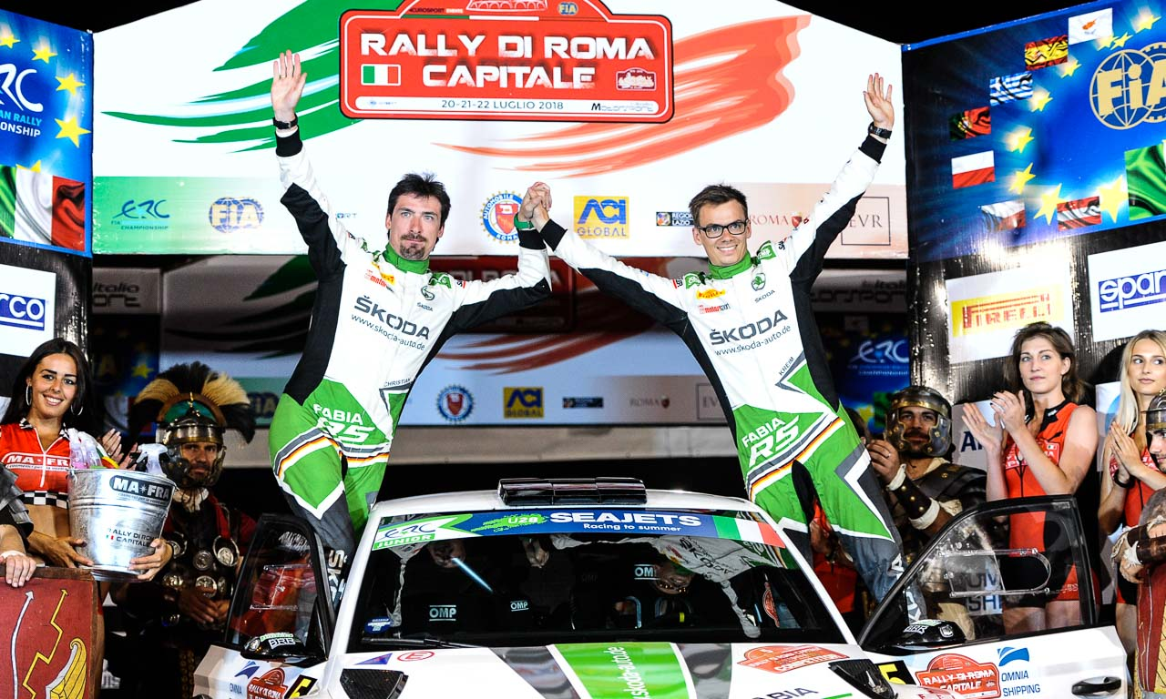 Rally di Roma 2018 Skoda Fabia R5 Fabian Kreim AUTOmativ.de Benjamin Brodbeck 68 - Der Reiz, eine Rallye hautnah mitzuerleben: Mit Skoda bei der Rally di Roma!