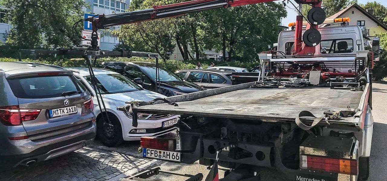 Abgeschleppt nach zehn Minuten Zulassungsstelle Muenchen Ratgeber Auto Muenchen 3 1280x600 - Ratgeber: Albtraum beim Parken in München - abgeschleppt nach 10 Minuten