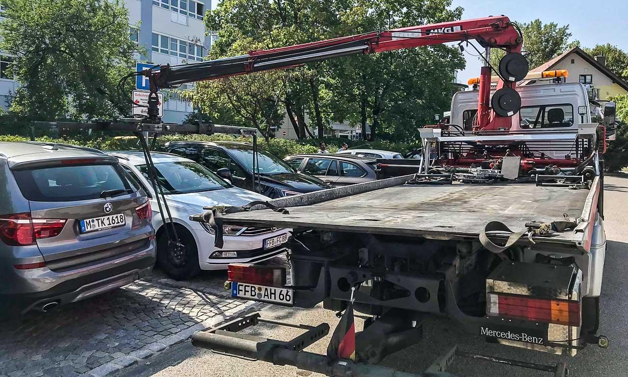 Ratgeber: Albtraum beim Parken in München - abgeschleppt nach 10 ...