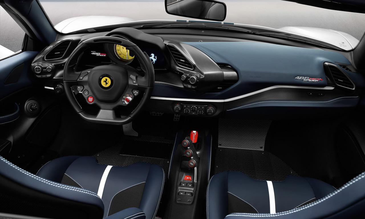 Ferrari 488 Pista Spyder AUTOmativ.de 4 - Der Ferrari 488 Pista Spider ist ein gutes Argument, um an seinem Teint zu arbeiten