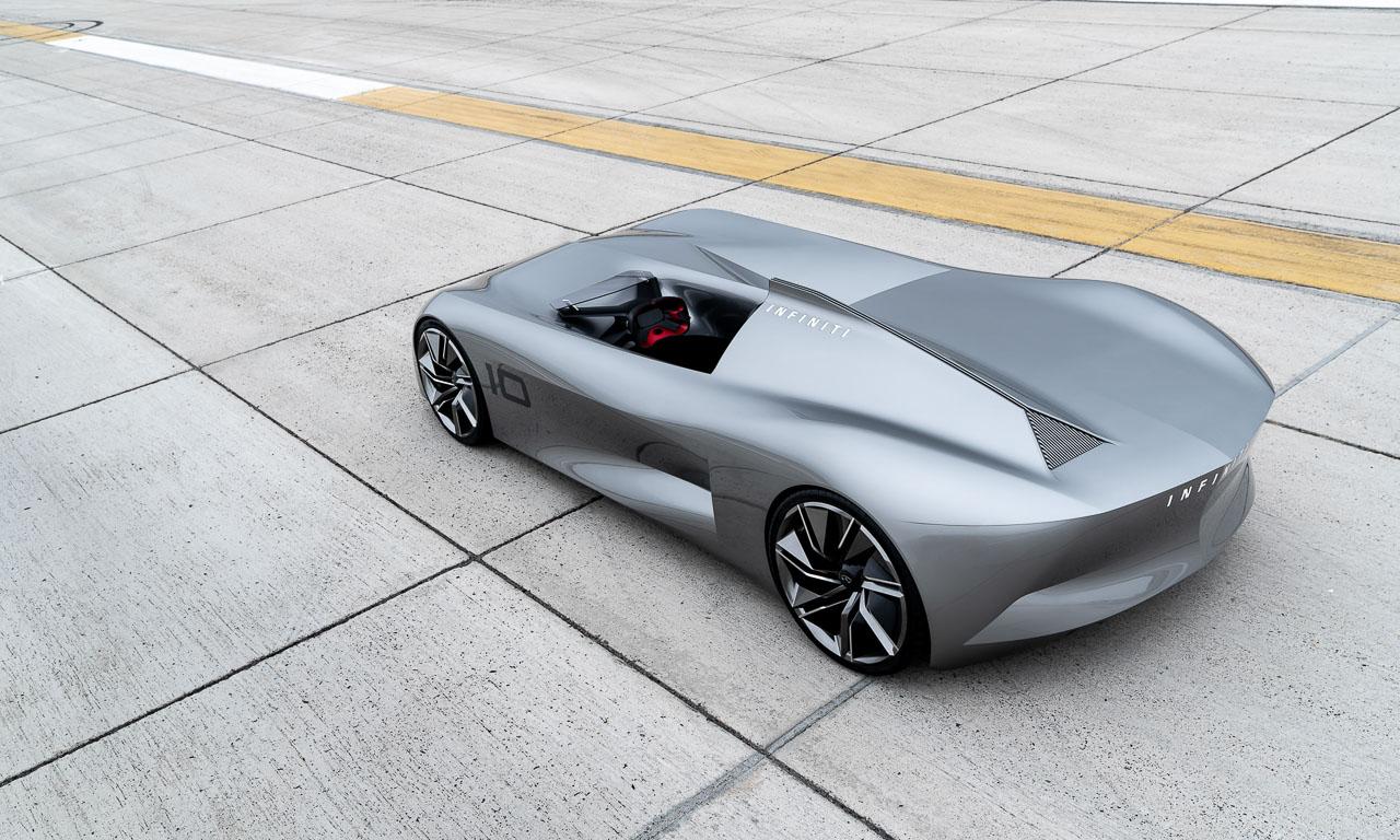 Infiniti Prototype 10 3 - Infiniti Prototype 10: So schön kann Elektromobilität sein - Pebble Beach 2018