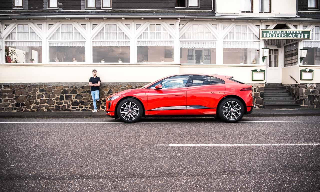 Jaguar I Pace 2018 im Fahrbericht und Test Elektroauto AUTOmativ.de Benjamin Brodbeck 25 - Testfahrt in einem Raumschiff: Jaguar I-Pace