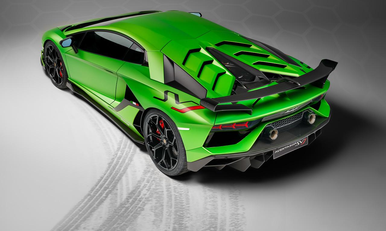 Lamborghini Aventador SVJ 4 - Der Lamborghini Aventador SVJ ist jedermanns Rückspiegel-Albtraum