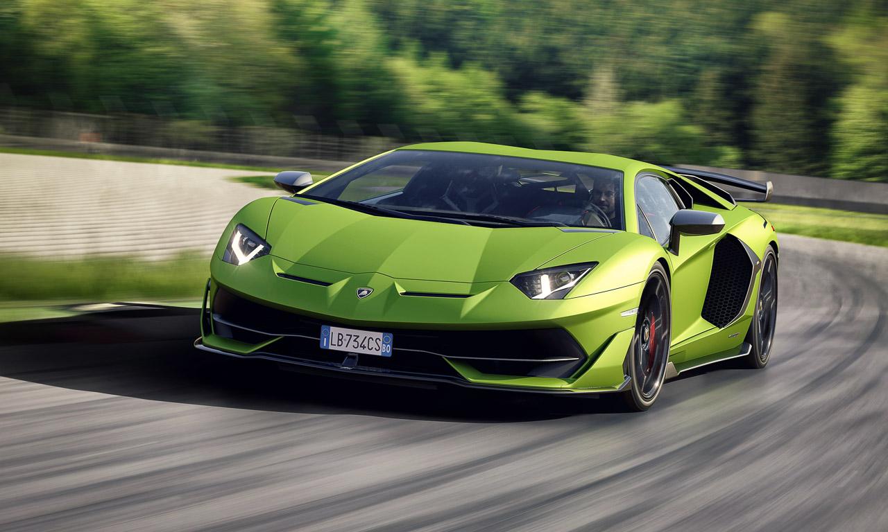 Lamborghini Aventador SVJ 6 - Der Lamborghini Aventador SVJ ist jedermanns Rückspiegel-Albtraum