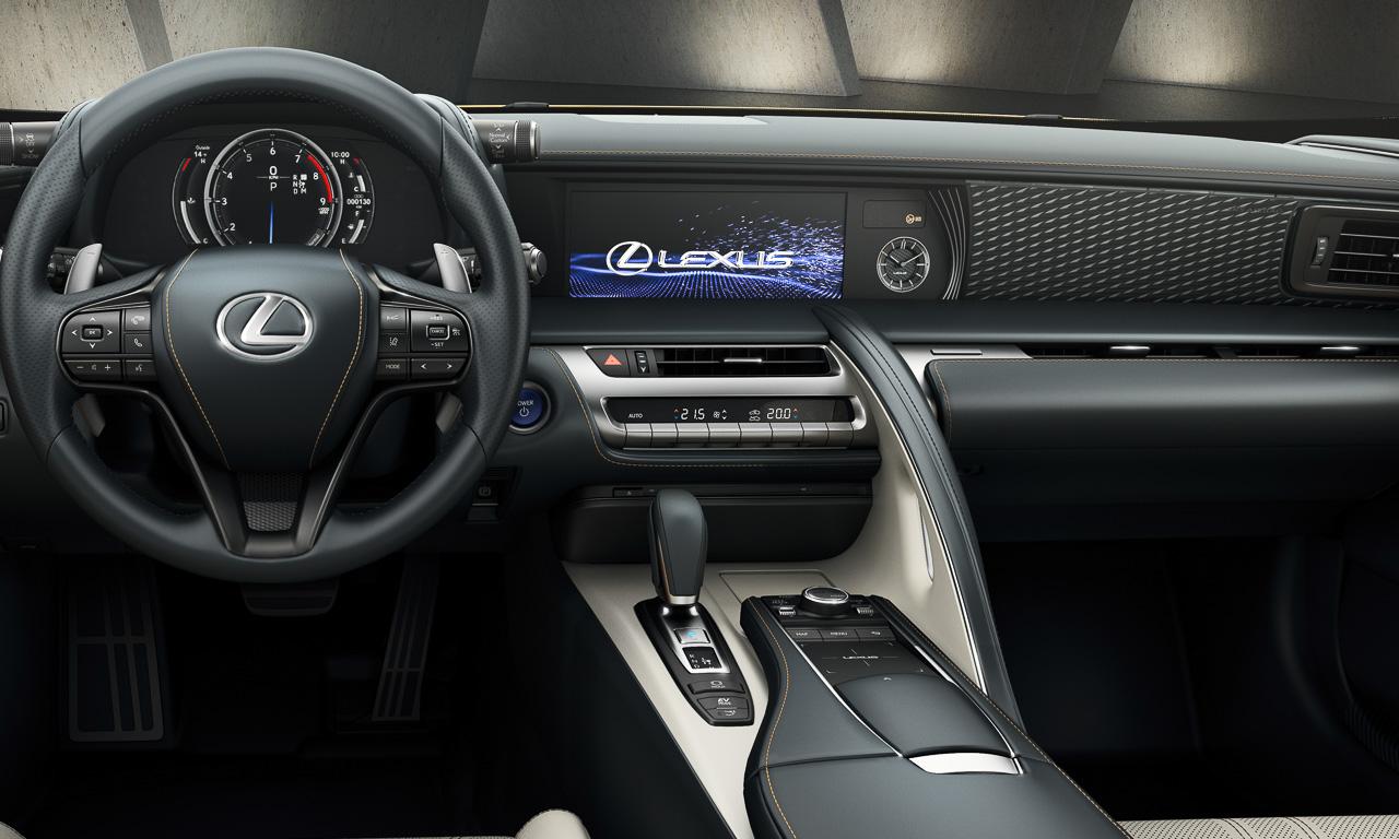 Lexus LC Yellow Edition 2 - Lexus LC Yellow Edition: Auroragelb für Innen und Außen