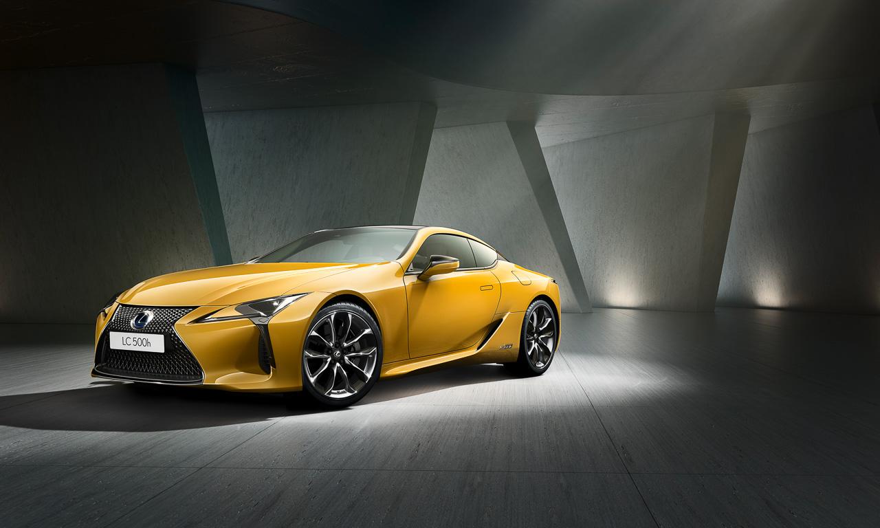 Lexus LC Yellow Edition 3 - Lexus LC Yellow Edition: Auroragelb für Innen und Außen