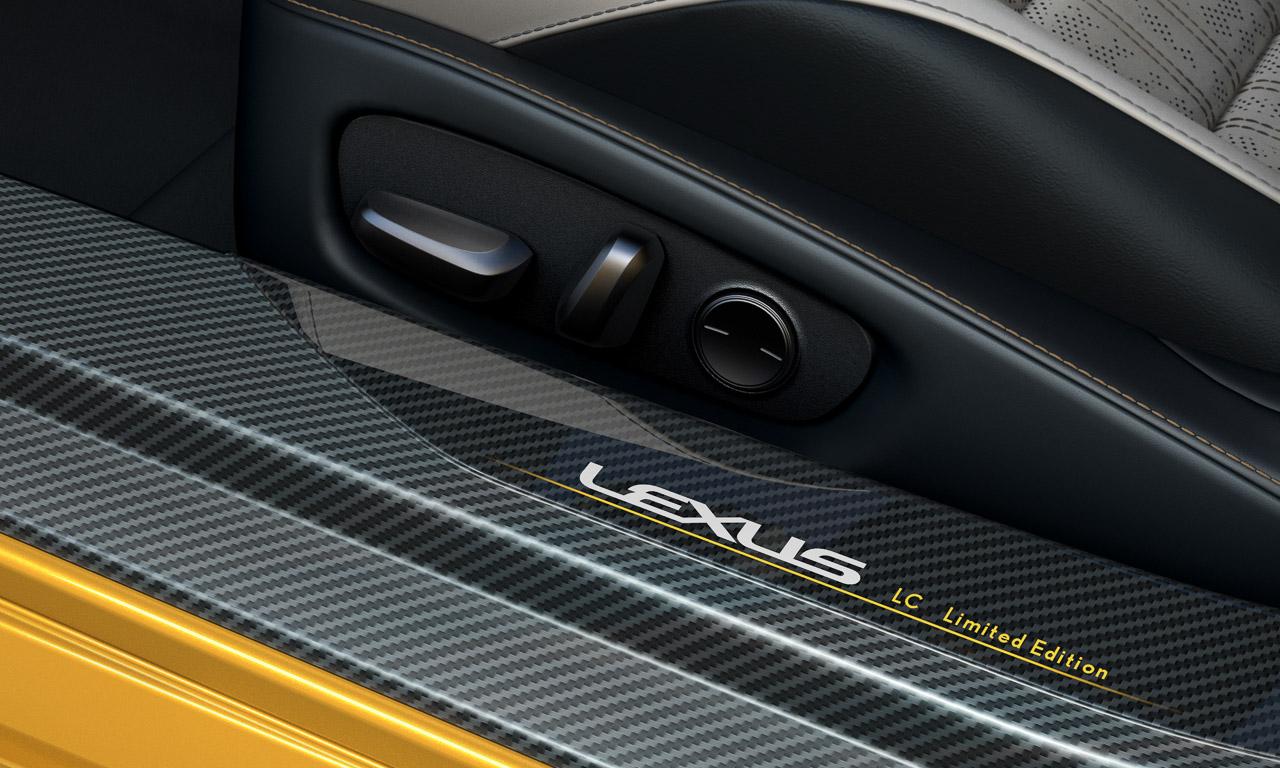 Lexus LC Yellow Edition 5 - Lexus LC Yellow Edition: Auroragelb für Innen und Außen