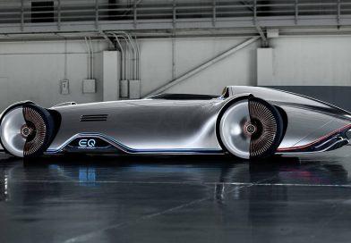 Mercedes-Benz EQ Silver Arrow: Eine Komposition aus 1937 und 2040