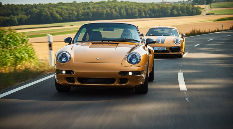 "Project Gold Porsche 993 Turbo S in Gold wie Porsche 911 Turbo S Exclusive Series AUTOmativ.de Benjamin Brodbeck 2 800x445 - Warum der Porsche 993 Turbo ""Project Gold"" keine Straßenzulassung bekommen kann"