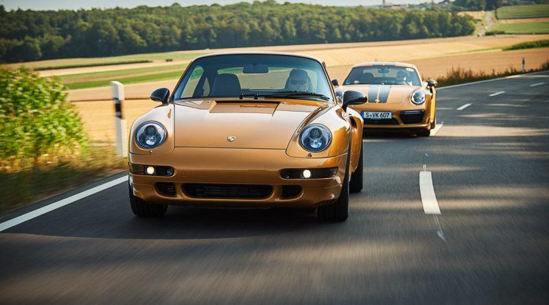 """Project Gold Porsche 993 Turbo S in Gold wie Porsche 911 Turbo S Exclusive Series AUTOmativ.de Benjamin Brodbeck 2 800x445 - Warum der Porsche 993 Turbo """"Project Gold"""" keine Straßenzulassung bekommen kann"""