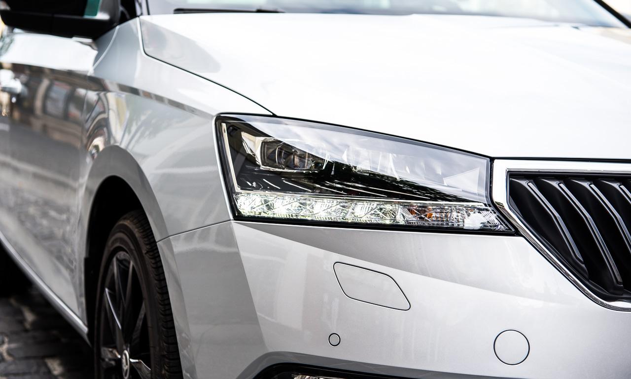 Skoda Fabia Facelift 2019 Fahrbericht und Test AUTOmativ.de Benjamin Brodbeck 27 - Skoda Fabia Facelift im Test: Bewährter Geist in neuem Gewand