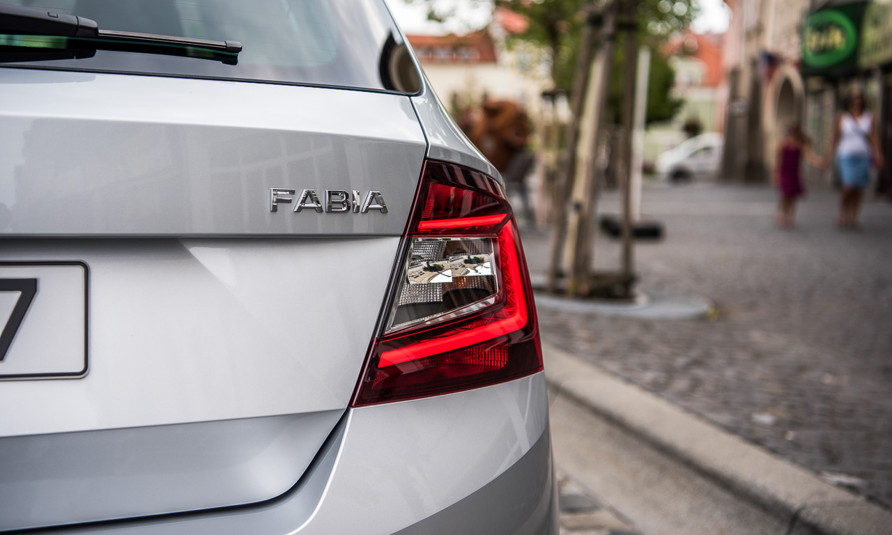 Skoda Fabia Facelift 2019 Fahrbericht und Test AUTOmativ.de Benjamin Brodbeck 34 - Skoda Fabia Facelift im Test: Bewährter Geist in neuem Gewand