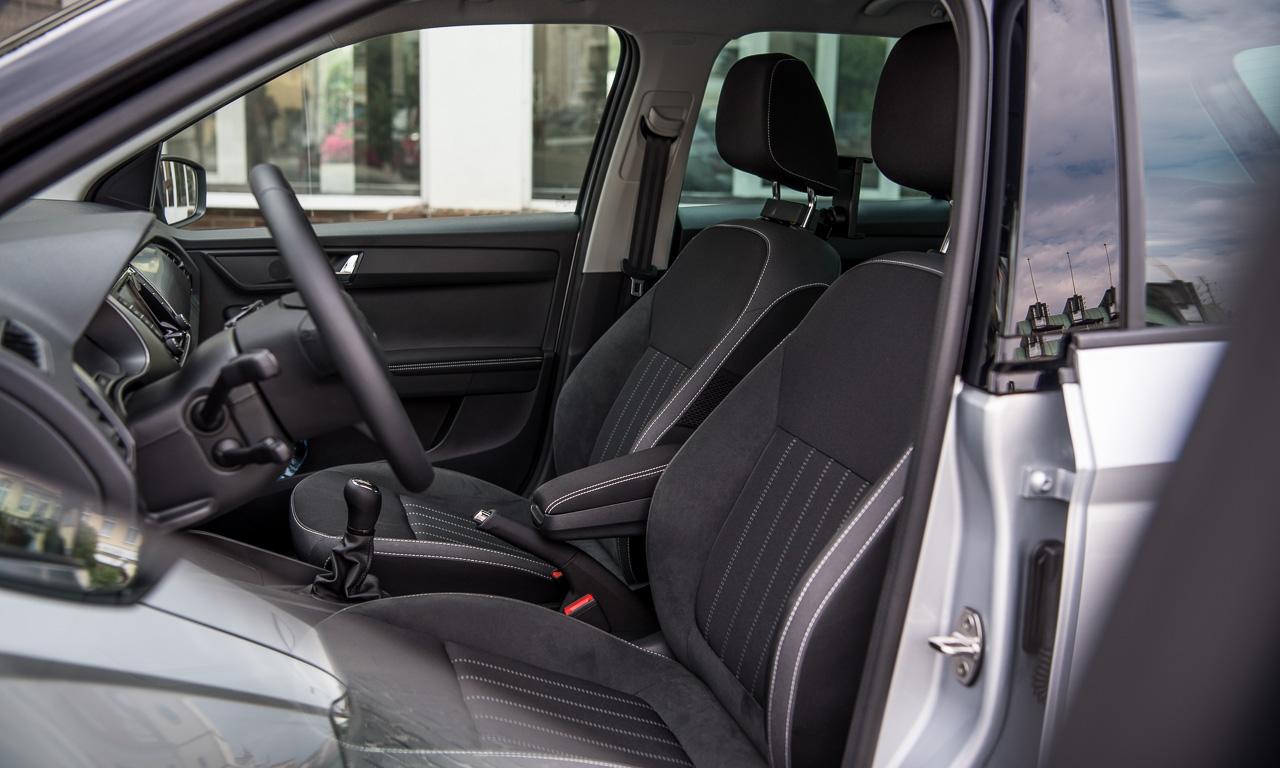 Skoda Fabia Facelift 2019 Fahrbericht und Test AUTOmativ.de Benjamin Brodbeck 36 - Skoda Fabia Facelift im Test: Bewährter Geist in neuem Gewand