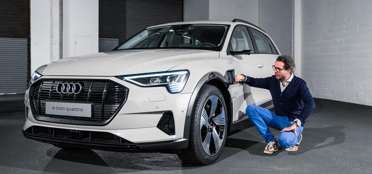 Audi e tron 2019 Erste Sitzprobe AUTOmativ.de Benjamin Brodbeck 1280x600 - Audi e-tron (2019): Erste Sitzprobe im vollelektrischen Audi SUV!