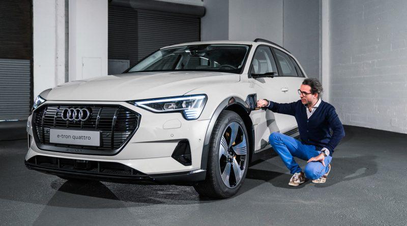 Audi e tron 2019 Erste Sitzprobe AUTOmativ.de Benjamin Brodbeck 800x445 - Audi e-tron (2019): Erste Sitzprobe im vollelektrischen Audi SUV!