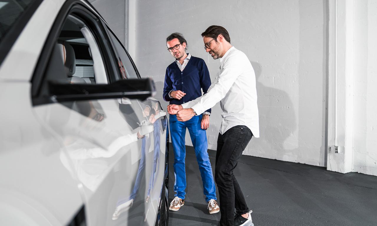 Audi e tron 2019 Premiere Review Test Erste Bilder AUTOmativ.de Benjamin Brodbeck 18 - Audi e-tron (2019): Erste Sitzprobe im vollelektrischen Audi SUV!